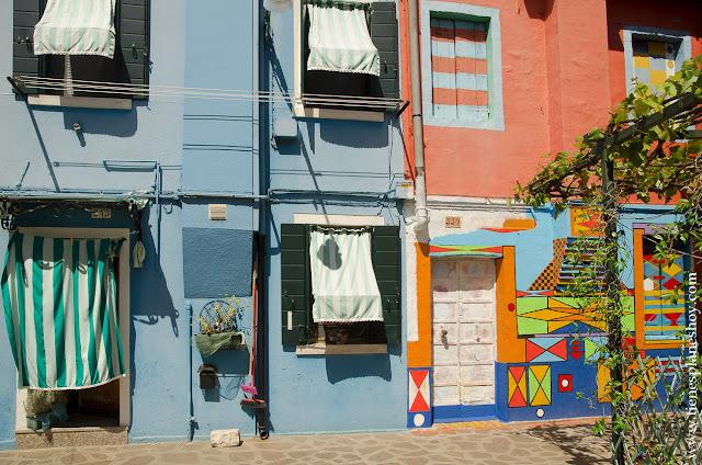 Casa de Bepi Burano viaje turismo Italia Venecia