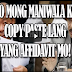 "Sen. Sotto revealed affidavit of Lascañas is ""COPY PASTE"""