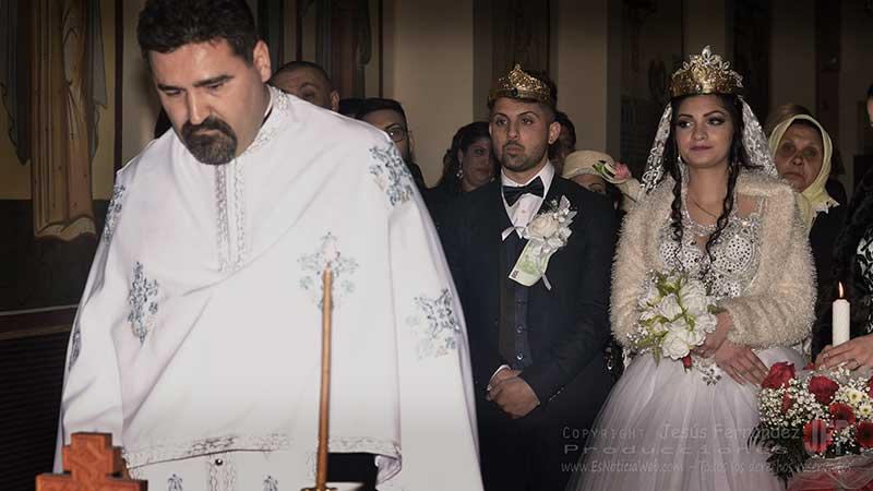 Boda ortodoxa, ceremonia, protocolos