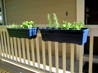 Handmade Homebody Window Box Herb Garden