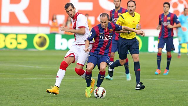 Rayo Vallecano vs Barcelona