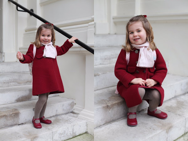 """Księżniczka Charlotte poszła do przedszkola! + zwiastun dokumentu ,,The Coronation""""."""