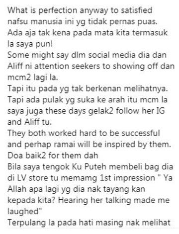 Chef Wan Puji Keberanian Dato Seri Vida