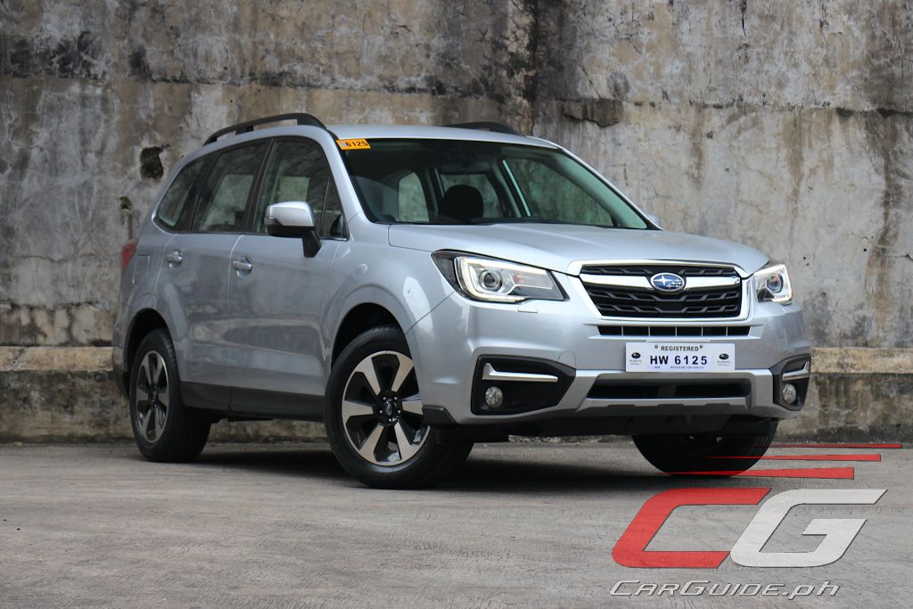 Review: 2017 Subaru Forester 2 0i-L | Philippine Car News