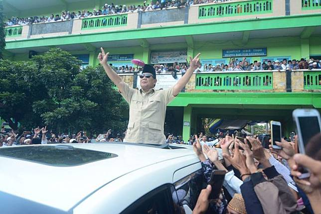 Prabowo, Sehari Setelah terpilih saya akan jemput Habib Rizieq