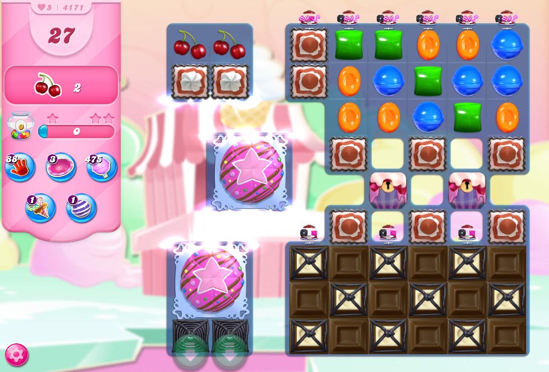 Candy Crush Saga level 4171