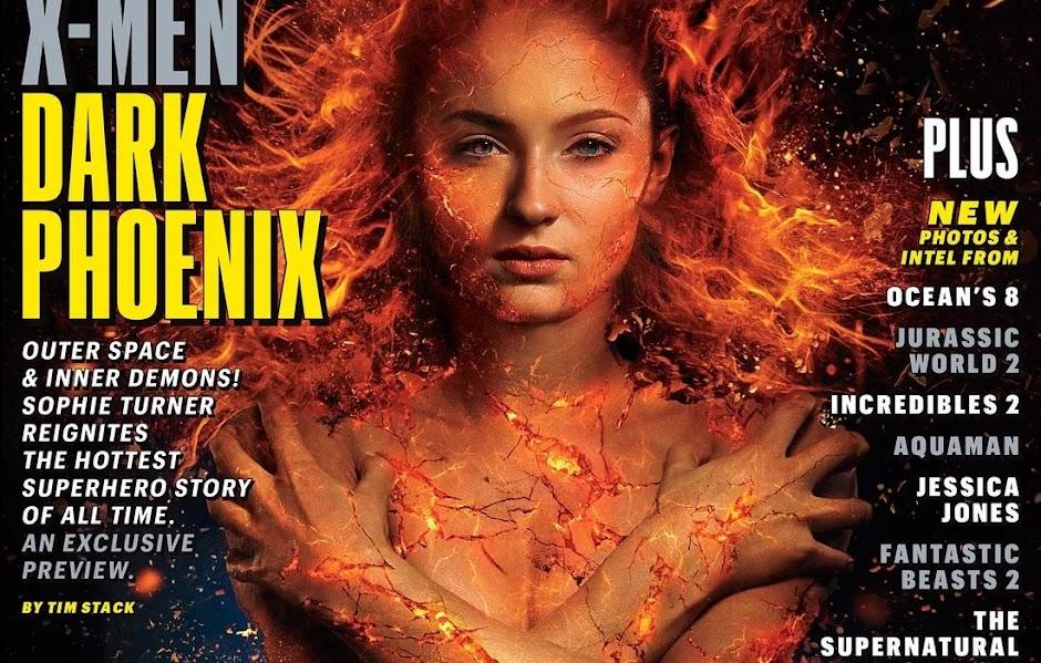 """Revelada as primeiras imagens e detalhes do enredo de """"X-Men: Fênix Negra"""""""