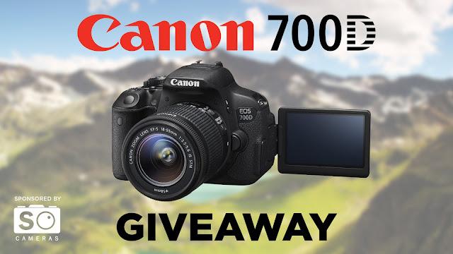 Canon 700D (Rebel T5i) + GIVEAWAY International Lens Kit 2 DAYS LEFT