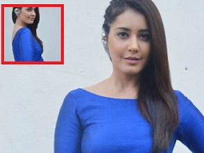 Raashi Khanna At Supreme Success Meet Photos