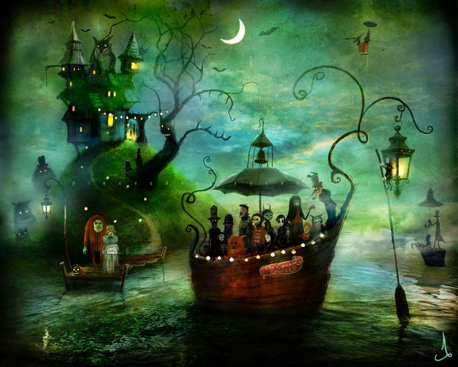 16-Alexander-Jansson-Fairy-tale-Worlds-in-Surreal-Paintings-www-designstack-co