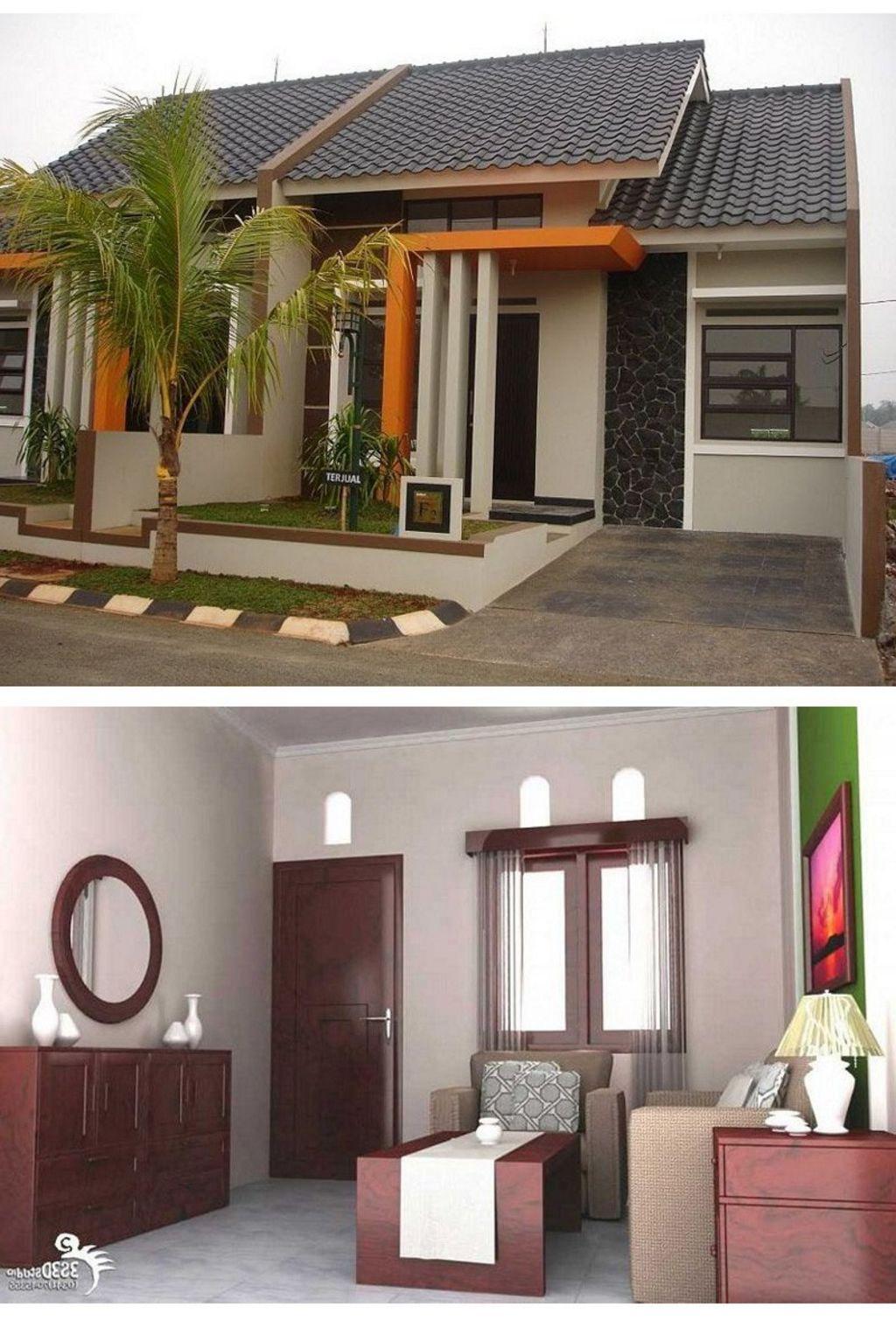 desain interior rumah mungil modern