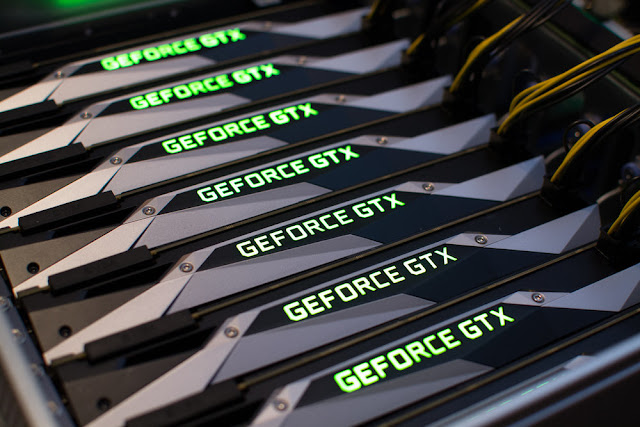 Eight GTX 1080 connected cards serve not to play, but to crack passwords