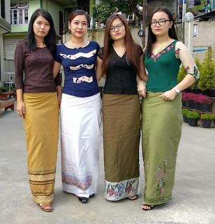 Dress of The Mizos in Mizoram