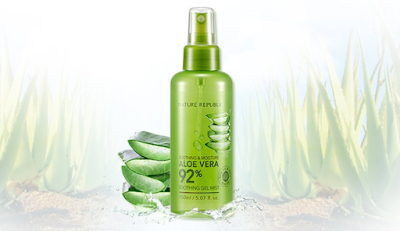 Nature Republic 92% Aloe Vera Soothing Gel Mist Review - Healthbiztips