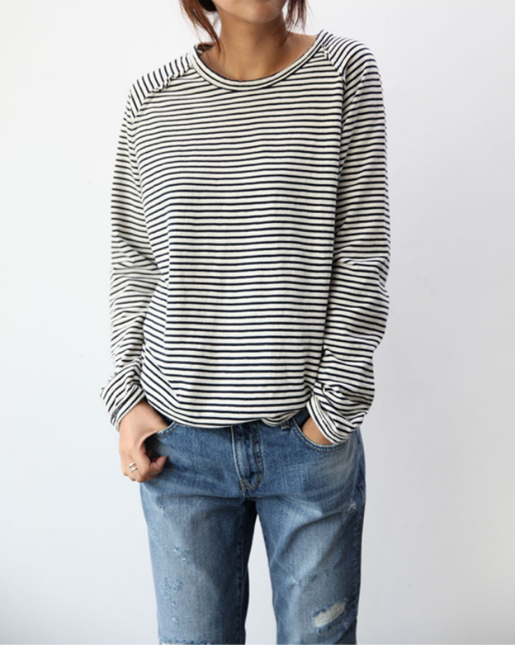 striped shirt / Tumblr blog inspirations