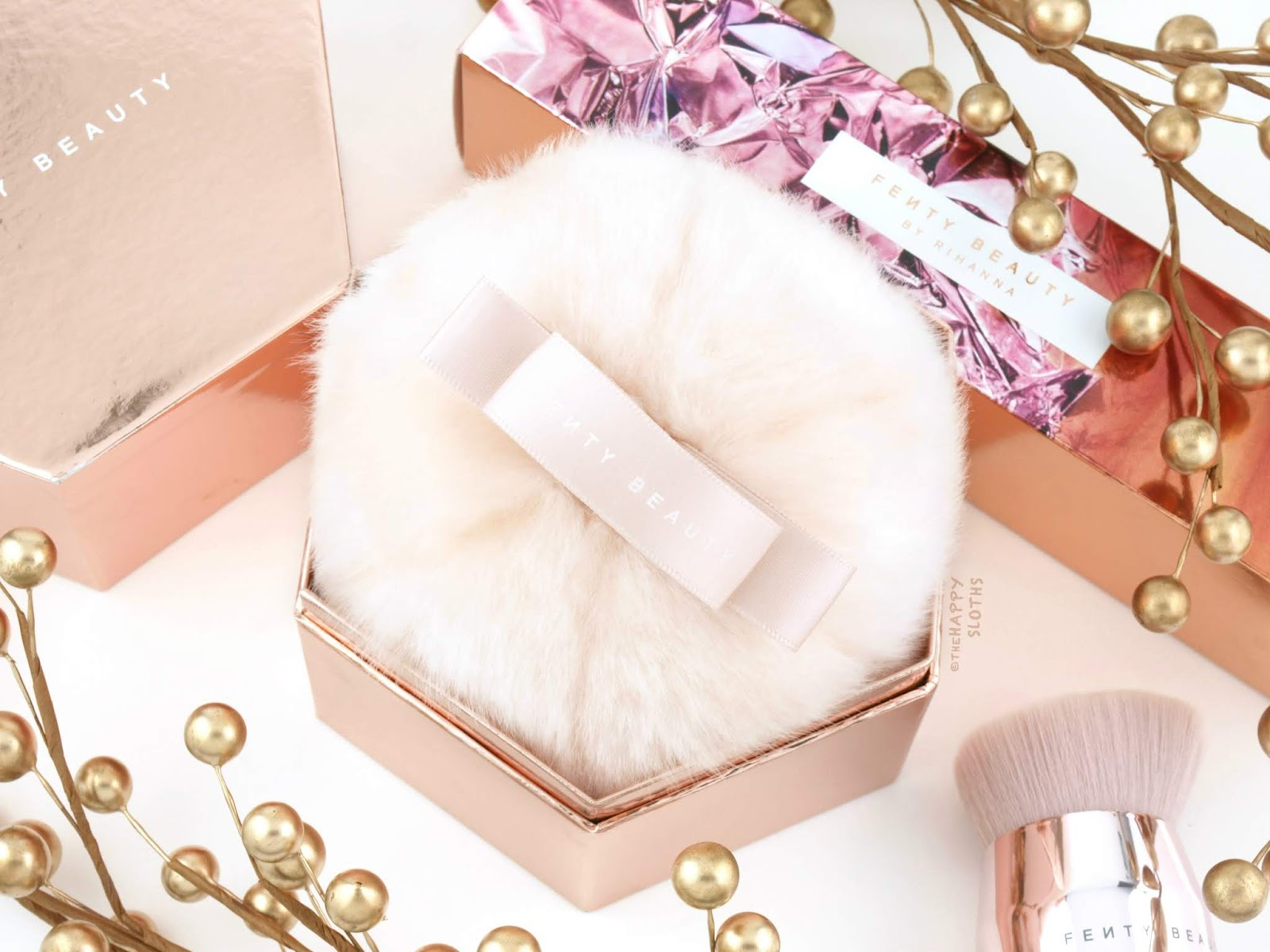 Fenty Beauty | Fairy Bomb Glittering Pom Pom: Review and Swatches