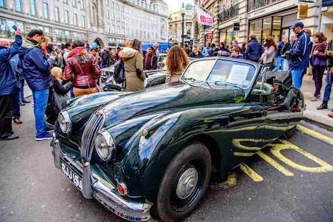 Jaguars take over Regent Street