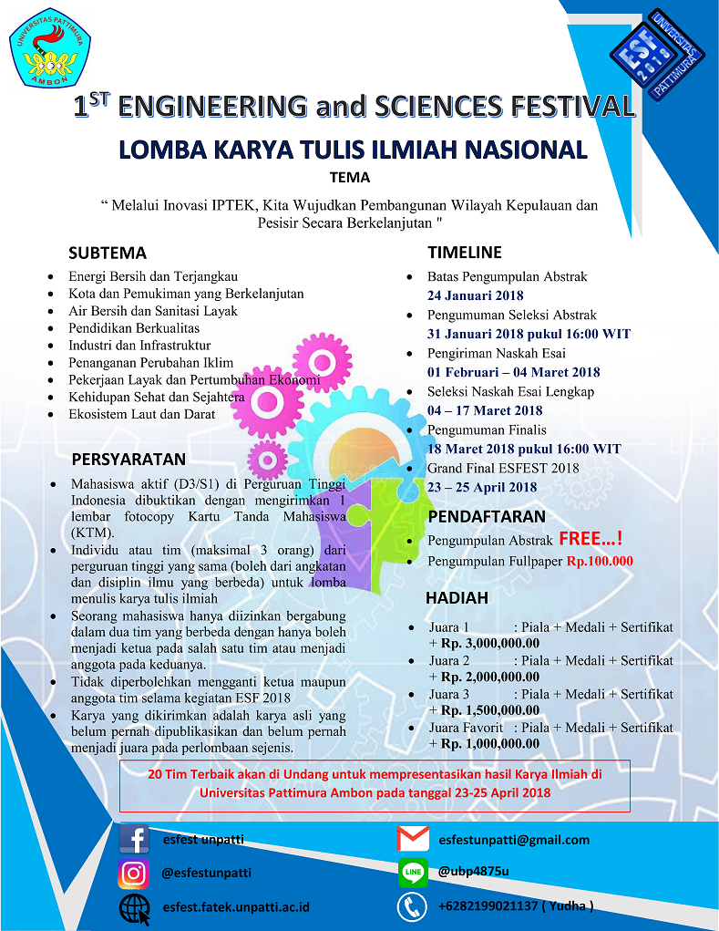 Event Engineering And Science Festival 2018 Peserta Mahasiswa