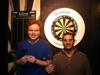 Semi-Finalists Seth 'Zen' Thomas and Jon 'The Stance' Angel