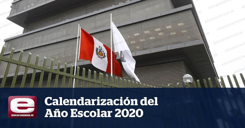 Directores de colegios públicos tienen que elaborar la calendarización del Año Escolar 2020 (R. VM. N° 220-2019-MINEDU)