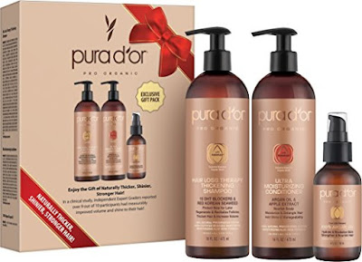 PURA D'OR Professional Hair Loss Therapy Thickening Gift Set $48 (reg $68)