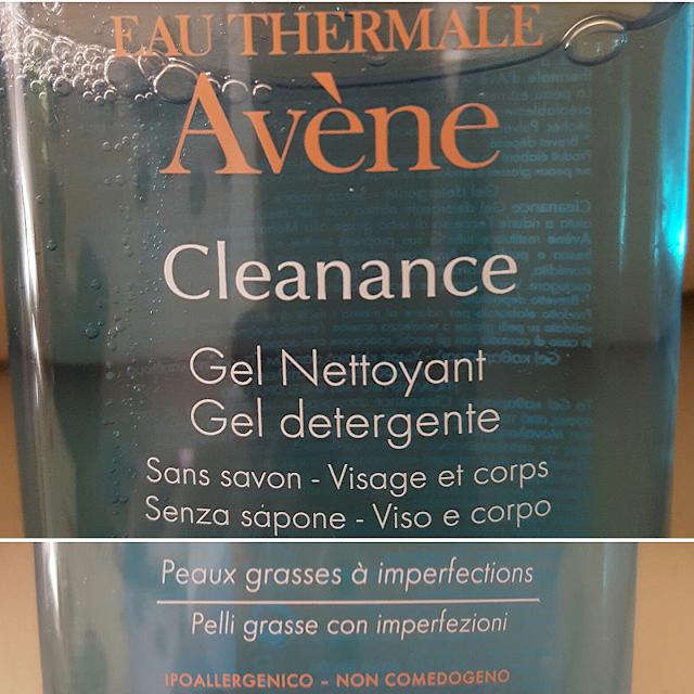 gel detergente cleanance avène