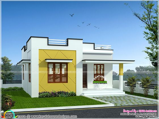 Rs.12 lakh budget home in Kerala | Kerala home design ...