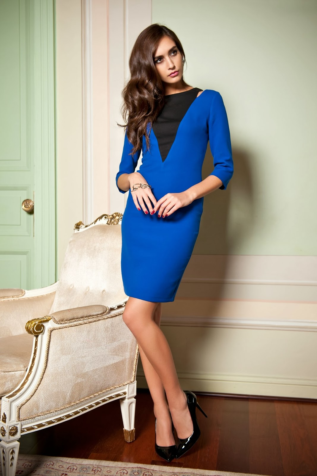 fashion dress model latest
