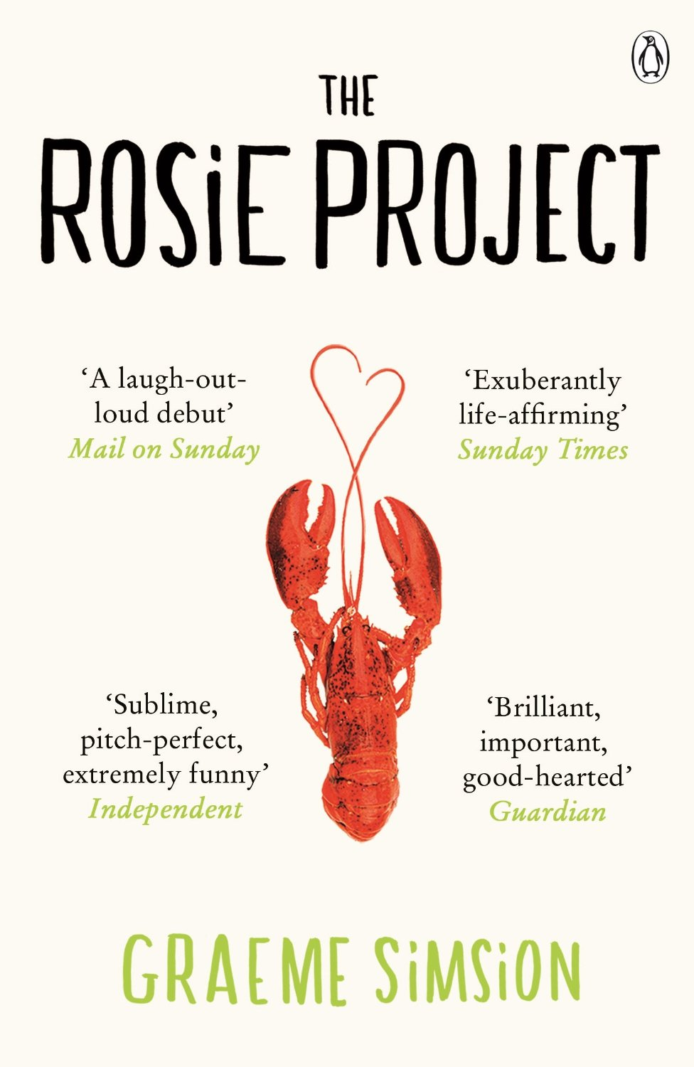 The Rosie Project Graeme Simsion Cover