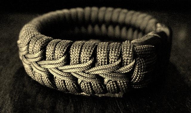 Stormdrane S Blog Center Stitched Paracord Bracelet Watchband