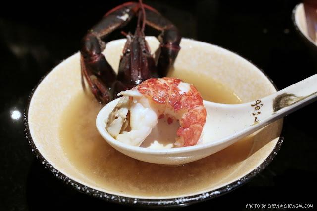 IMG 1389 - 熱血採訪│那一間日式串燒居酒屋,你沒看錯!整隻龍蝦的超級豪華版味噌湯只要100元!台中宵夜推薦來這就對了!