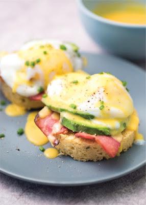 Keto Breakfast: Eggs Benedict with Avocado Recipe