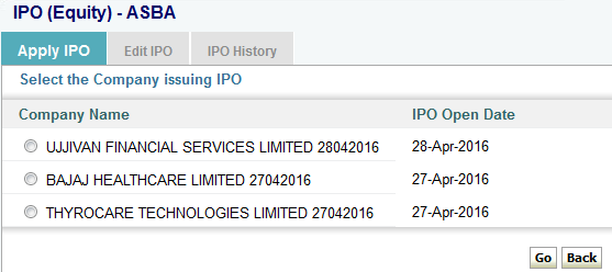 Cut off price and bid price in ipo