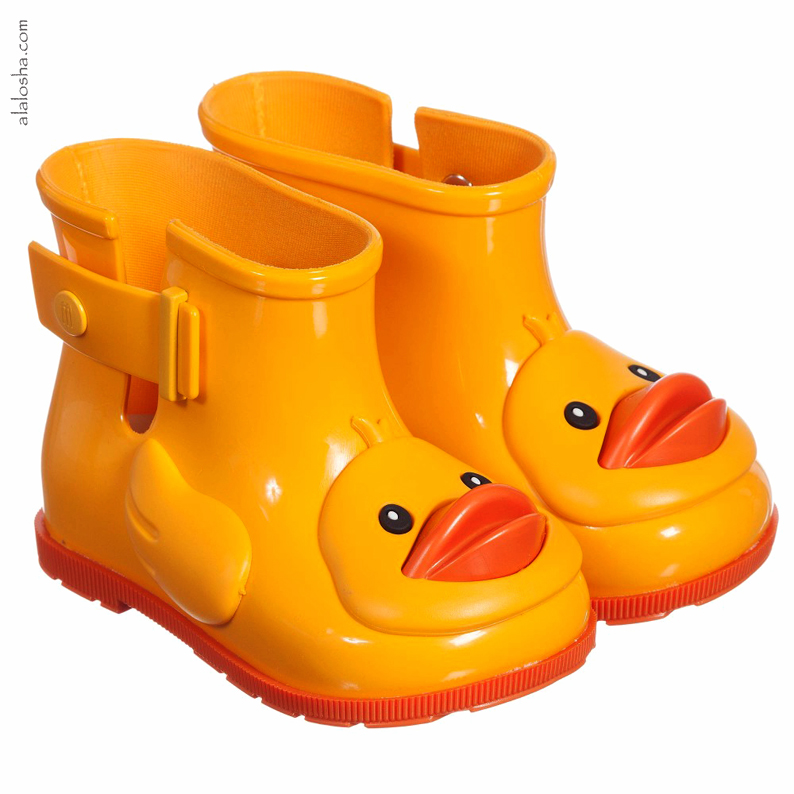 86d4ceef6e4c Must Have of the Day  Yellow Ducky Jelly Shoes