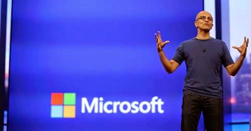 微軟CEO只看3件事:Windows、Office 365與Azure