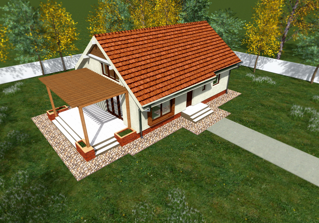 These small bungalow house plans contains homes of every design style. Houses with small floor plans and layout such as Cabins, Ranch houses, Cottages make great starter homes. Due to the simple fact that these houses are small and require less material makes them affordable house plans to construct. Here are some modern small bungalow houses plans and design for you.