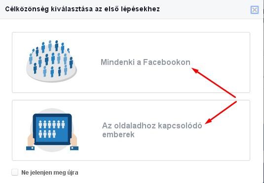 facebook hírdetés készítés