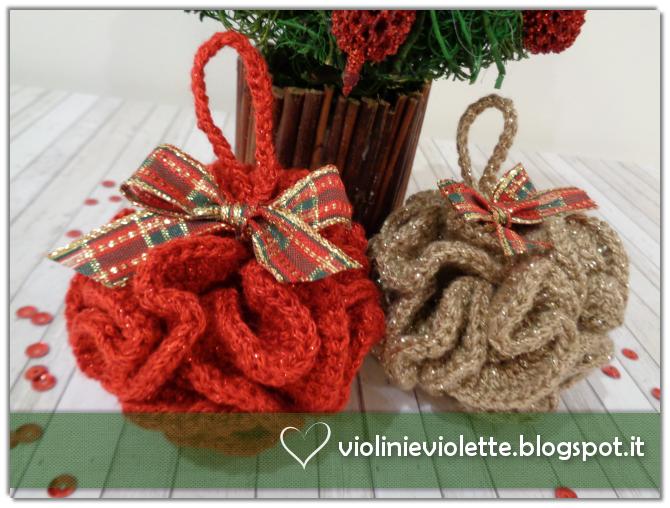 Favoloso Violini e Violette: Palline di Natale ruffle OF98