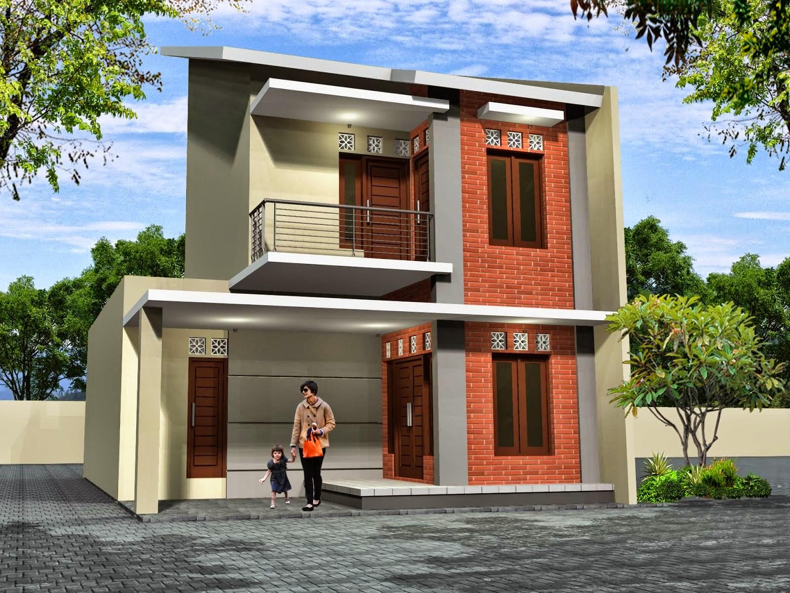 Desain Rumah Minimalis 2 Lantai Dan Biaya Foto Desain Rumah