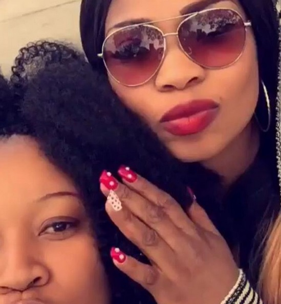Laide Bakare Flaunts Nails, Says I Made Them For N320k