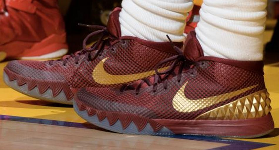 785a86f4f89 ... Irving s Nike Kyrie 1 NBA Finals Game 1 PE Sneaker he is wearing  tonight