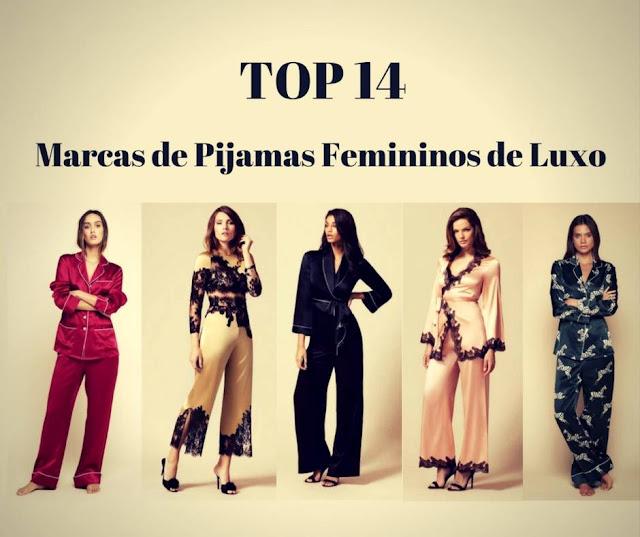 Top 14 Marcas de Pijamas Femininos de Luxo - Pijamas Femininos Chiques