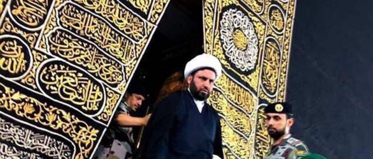 Heboh, Beredar Foto Tokoh Syiah Irak Masuk Ka'bah