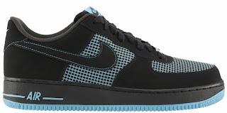 sale retailer 89c78 a24ad 11 29 2013 Nike Air Force 1 Low 488298-073 Black Black-Gamma Blue  100.00