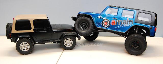 Tamiya Jeep Wrangler Axial SCX10 II