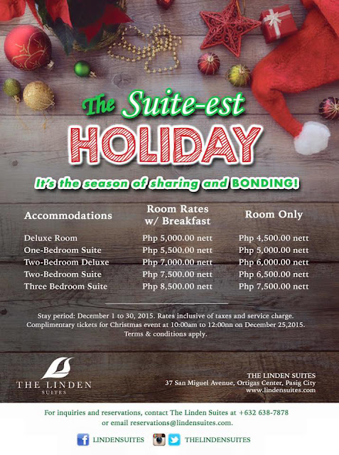 The SUITE-est Holiday! It's the season of sharing and bonding!