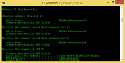 Jenis-Jenis Perintah Di Command Prompt / DOS