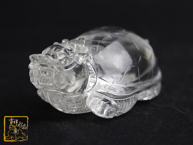 白水晶龍龜