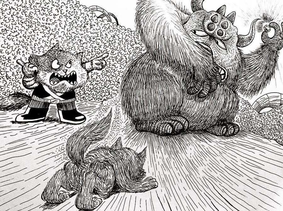 07-Told-off-Rex-Lee-Little-Creatures-www-designstack-co