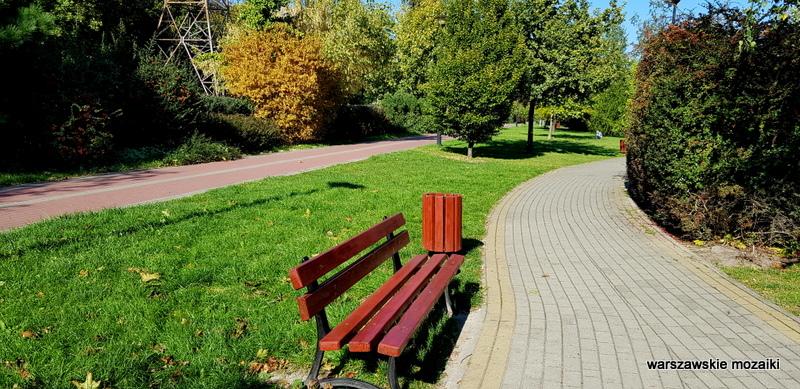 Warszawa Warsaw parki warszawskie Ursus dzielnica teren zielony